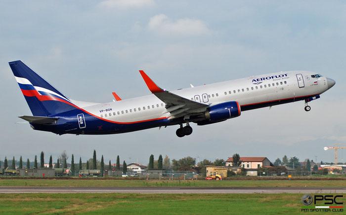 VP-BGN B737-800 41225/6086 Aeroflot @ Aeroporto di Verona 11.2019  © Piti Spotter Club Verona