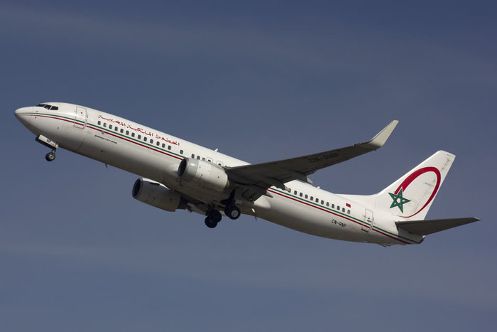 CN-RNP B737-8B6 28983/492 Royal Air Maroc @ Bologna Airport 10.03.2012 © Piti Spotter Club Verona