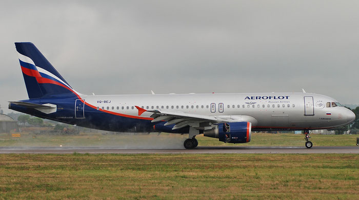 VQ-BEJ A320-214 4160 Aeroflot @ Aeroporto di Verona 01.09.2018  © Piti Spotter Club Verona
