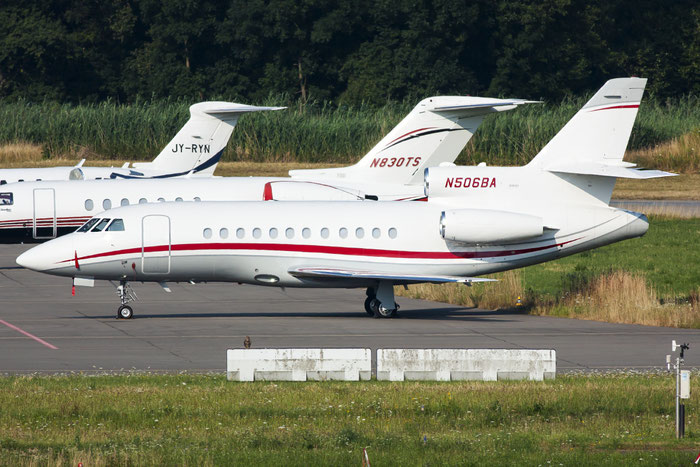 N506BA Falcon 900B 160 Air Bahnik LLC @ Zurich Airport 20.07.2013 © Piti Spotter Club Verona