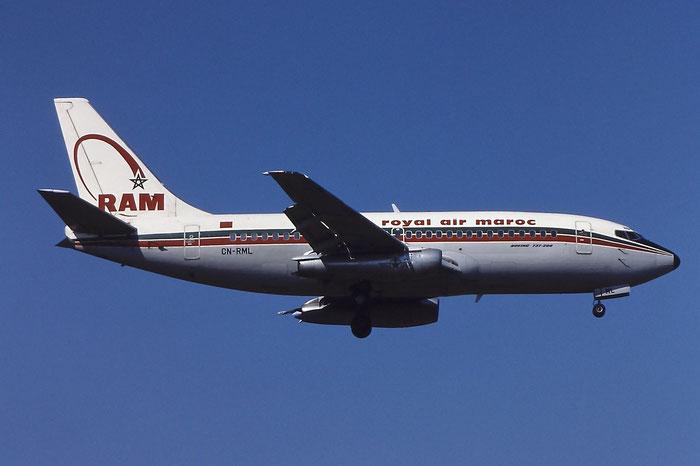 CN-RML B737-2B6 22767/851 Royal Air Maroc @ Aeroporto di Verona © Piti Spotter Club Verona
