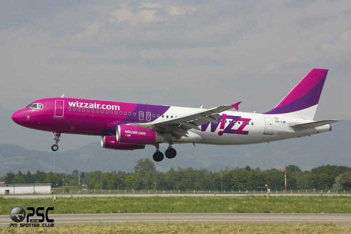 HA-LWI A320-232 4628 Wizz Air @ Bergamo Airport 02.06.2013 © Piti Spotter Club Verona