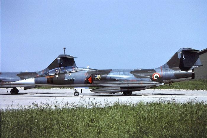 MM54257  4-39  TF-104G  583H-5208 @ Aeroporto di Verona   © Piti Spotter Club Verona