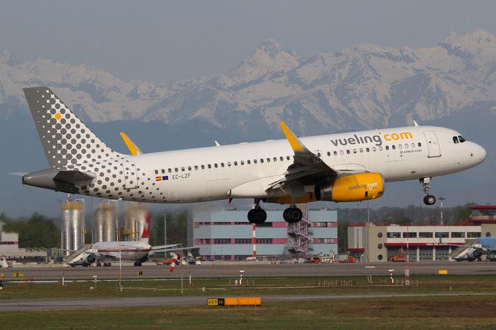 EC-LZF A320-232 5940 Vueling Airlines @ Milano Malpensa Airport 14.04.2015 © Piti Spotter Club Verona