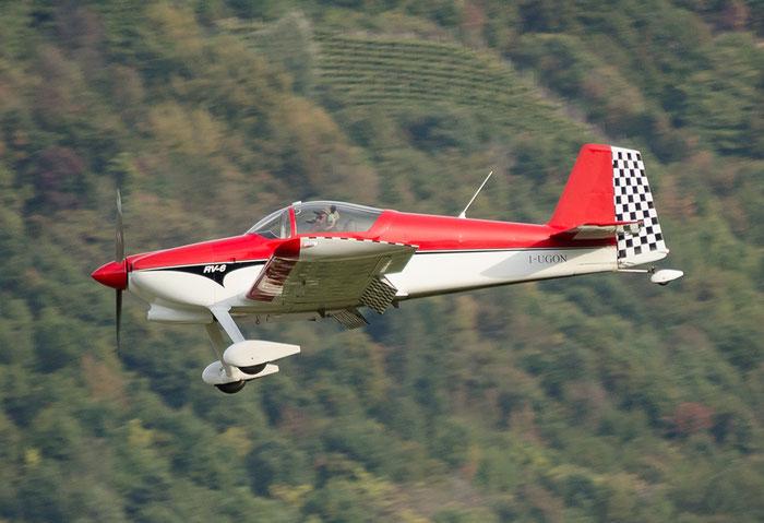 I-UGON - Vans RV-6 - Private @ Aeroporto di Bolzano © Piti Spotter Club Verona