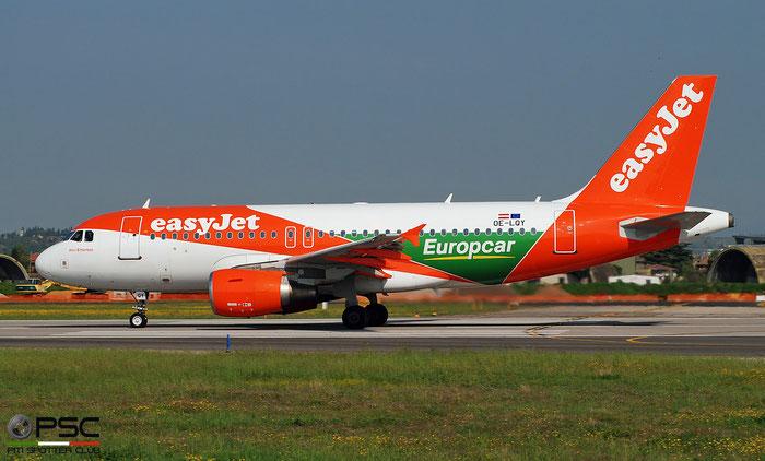 OE-LQY A319-111 3683 easyJet Europe @ Aeroporto di Verona 04.2019  © Piti Spotter Club Verona