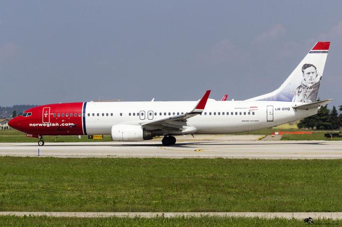 LN-DYQ B737-8JP 40869/3651 Norwegian @ Aeroporto di Verona 14.05.2017  © Piti Spotter Club Verona