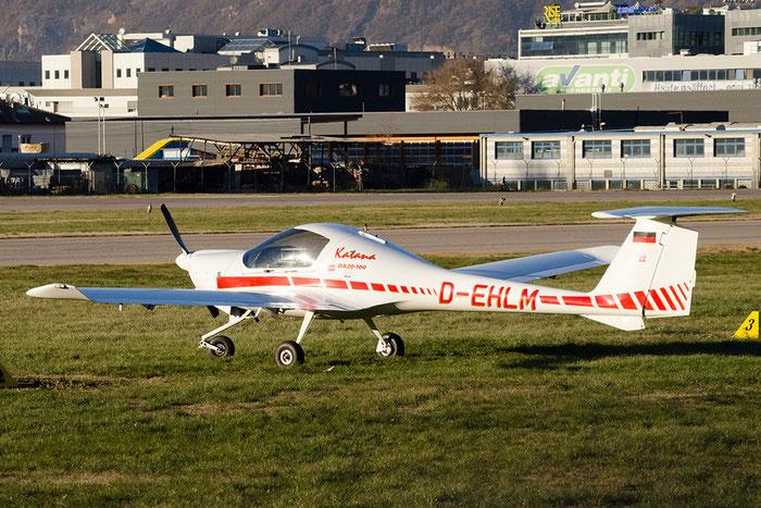 D-EHLM Diamond Aircraft Industries DA-20-A1 Katana DV20 @ Aeroporto di Bolzano © Piti Spotter Club Verona