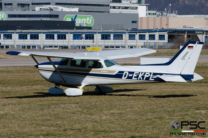 D-EKPL Cessna 172S C172 @ Aeroporto di Bolzano © Piti Spotter Club Verona