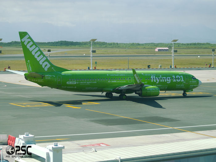 ZS-ZWP B737-86N 28612/455 Kulula Air @ Cape Town Airport 22.03.2014 © Piti Spotter Club Verona