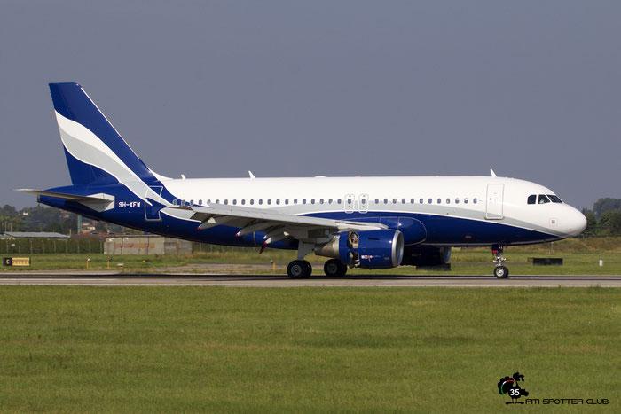 9H-XFW  A319-112  3689  Hi Fly Malta  @ Aeroporto di Verona 09.2020  © Piti Spotter Club Verona