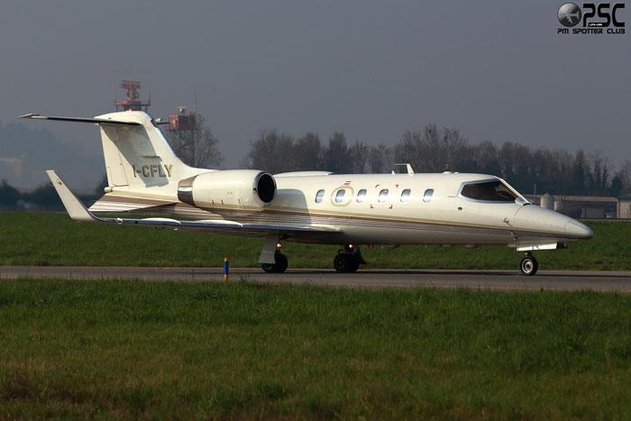 I-CFLY Learjet 31A 31A-167 C Fly Srl. @ Bergamo Airport 08.03.2014 © Piti Spotter Club Verona
