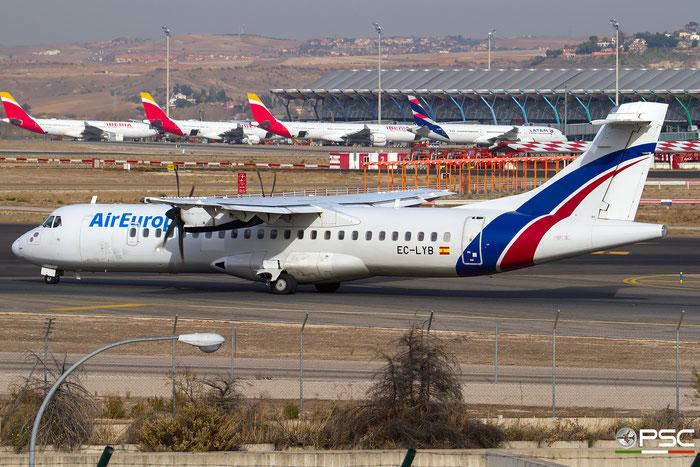 EC-LYB ATR72-212A 550 Air Europa @ Madrid Airport 23.11.2017 © Piti Spotter Club Verona