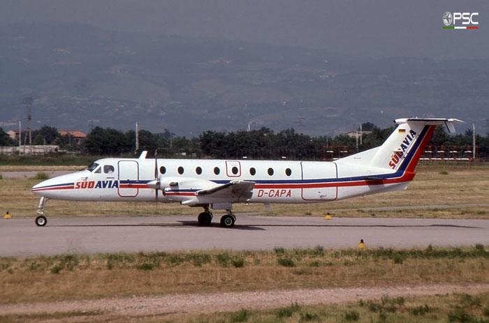 D-CAPA Beech 1900C UB-72 Südavia Fluggesellschaft - @ Aeroporto di Verona - © Piti Spotter Club Verona