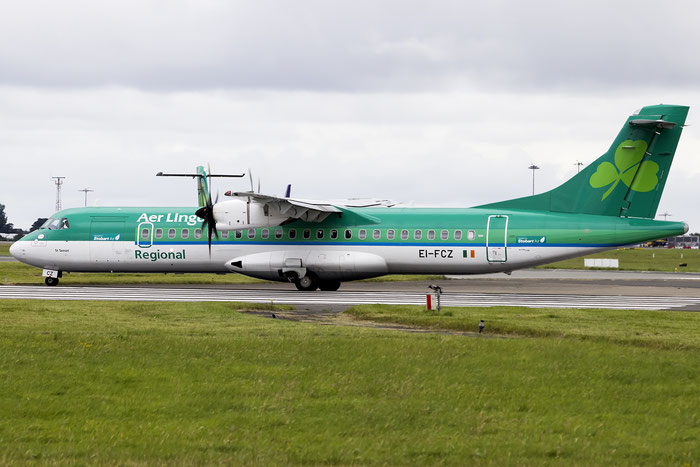 EI-FCZ ATR72-212A 1159 Stobart Air opf Aer Lingus Regional @ Dublin Airport 14.08.2016 © Piti Spotter Club Verona
