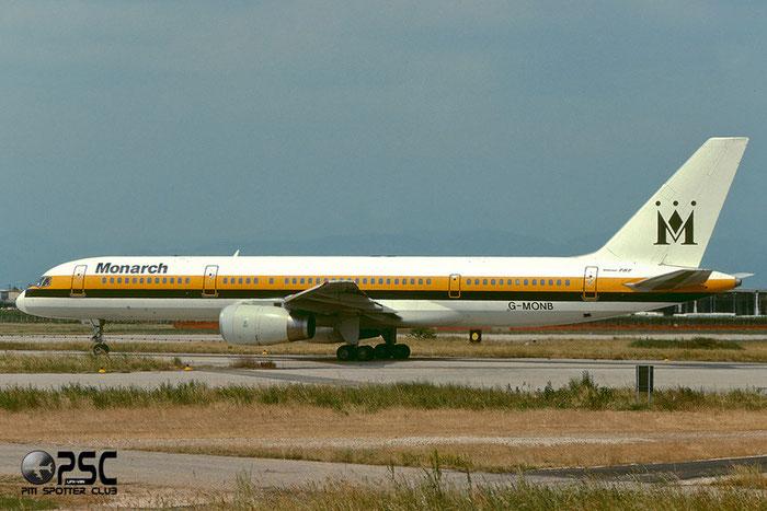 G-MONB  B757-2T7ER  22780/15  Monarch Airlines  @ Aeroporto di Verona © Piti Spotter Club Verona