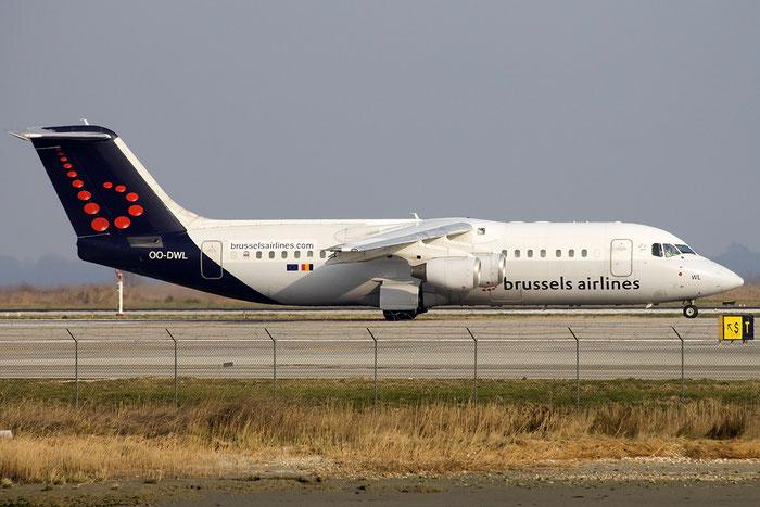 OO-DWL BAe146-RJ100 E3361 Brussels Airlines @ Venice Airport 12.03.2015 © Piti Spotter Club Verona