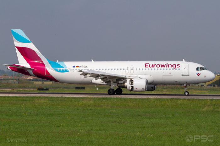 D-AEUE A320-214 4161 Eurowings @ Aeroporto di Verona 10.2019  © Piti Spotter Club Verona