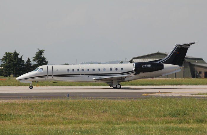 D-ARMY ERJ135BJ 14501229 Air Hamburg Private Jets @ Aeroporto di Verona 10.06.2018  © Piti Spotter Club Verona