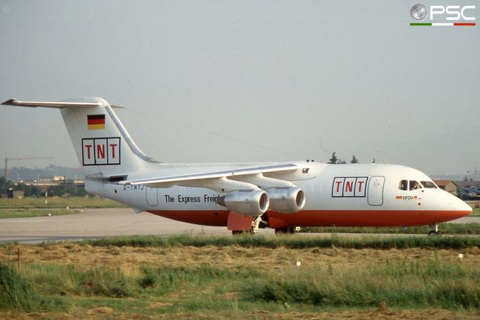 G-TNTJ BAe146-200QT E2100 Air Foyle (TNT Express) © 2018 courtesy of Marco Ceschi - Piti Spotter Club Verona