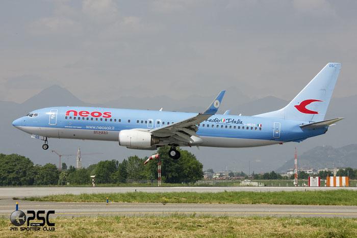I-NEOS B737-86N 32733/1078 Neos @ Bergamo Airport 02.06.2013 © Piti Spotter Club Verona