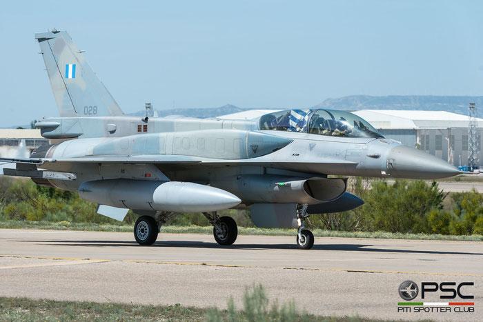 028   F-16D-52+-CF  WK-8  336 Mira © Piti Spotter Club Verona