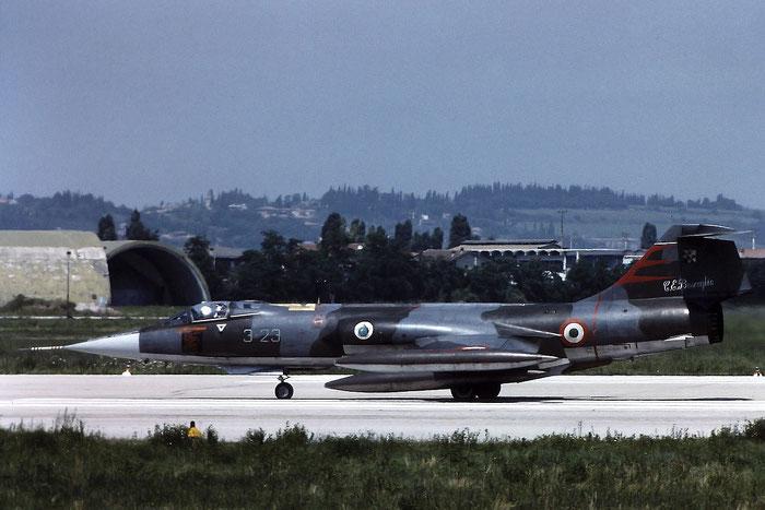 Gli F-104 del Terzo Stormo: 3-23 -  @ Aeroporto di Verona   © Piti Spotter Club Verona