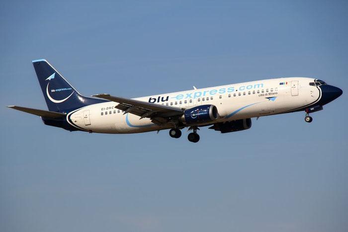 EI-DXC B737-4Q8 26300/2604 Blu-Express @ Bologna Airport 10.03.2012 © Piti Spotter Club Verona