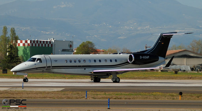 D-ASAP ERJ135BJ 14501230 Air Hamburg Private Jets  @ Aeroporto di Verona 04.2019  © Piti Spotter Club Verona