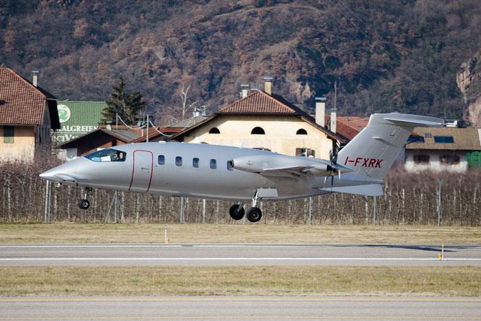 I-FXRK P180 1213 K-Air Spa @ Aeroporto di Bolzano © Piti Spotter Club Verona
