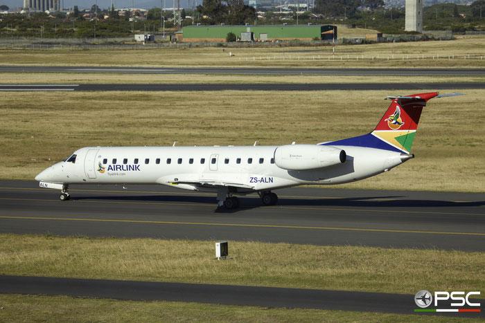 ZS-ALN ERJ140LR 145613 Airlink @ Cape Town International Airport 24.11.2017 © Piti Spotter Club Verona