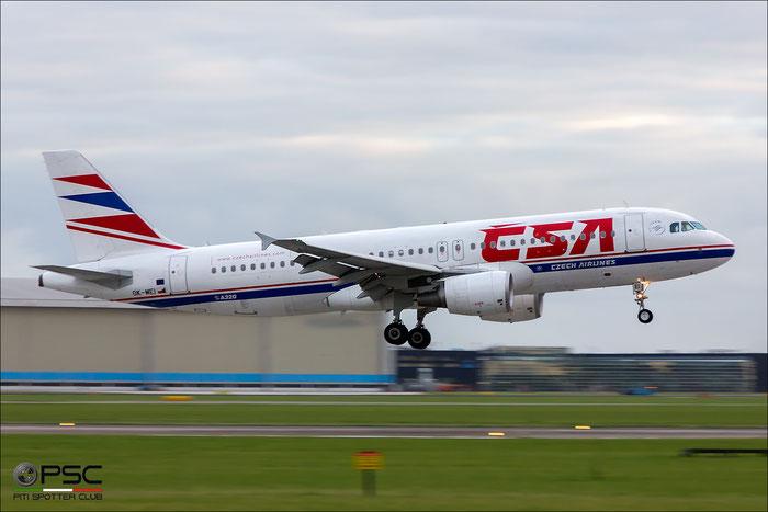 OK-MEI A320-214 3060 CSA Czech Airlines @ Amsterdam Airport 09.2013 © Piti Spotter Club Verona