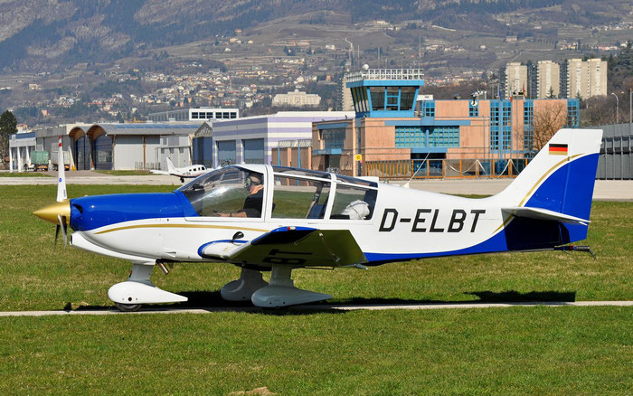 D-ELBT Robin Apex DR-400/140 B DR40 @ Aeroporto di Trento © Piti Spotter Club Verona