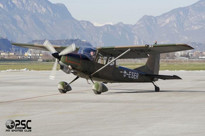 D-ESER SIAI-Marchetti SM-1019 SM19 @ Aeroporto di Bolzano © Piti Spotter Club Verona