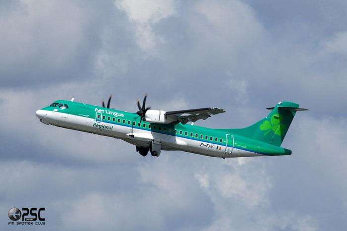 EI-FAV ATR72-212A 1105 Stobart Air opf Aer Lingus Regional @ Manchester Airport 13.05.2014 © Piti Spotter Club Verona