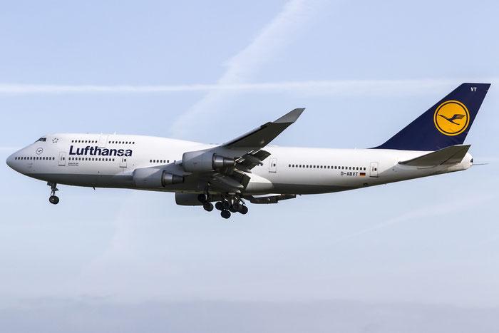 D-ABVT B747-430 28287/1110 Lufthansa @ Frankfurt Airport  08.05.2015 © Piti Spotter Club Verona