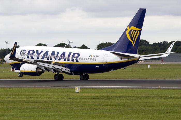 EI-SEV B737-73S 29078/187 Ryanair @ Dublin Airport 14.08.2016 © Piti Spotter Club Verona