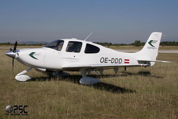 OE-DDD - Cirrus SR20 @ Aeroporto Verona Boscomantico © Piti Spotter Club Verona
