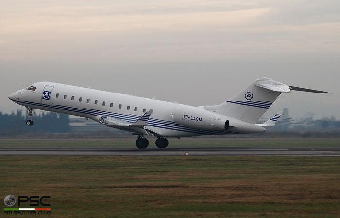 T7-LASM. Bombardier BD-700-1A10 Global Express @ Aeroporto di Verona 2020 © Piti Spotter Club Verona