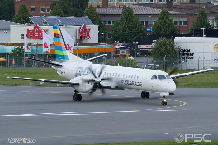 SE-LXK Saab 2000 2000-056 BRA - Braathens Regional Airlines @ Stockholm Bromma Airport 19.08.2016 © Piti Spotter Club Verona