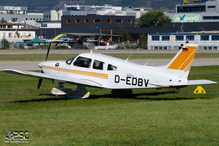 D-EDBV - Private - Piper PA-28-236 Dakota @ Aeroporto di Bolzano © Piti Spotter Club Verona