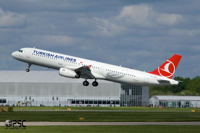 TC-JSA A321-231 5154 Turkish Airlines - THY Türk Hava Yollari @ Manchester Airport 13.05.2014 © Piti Spotter Club Verona