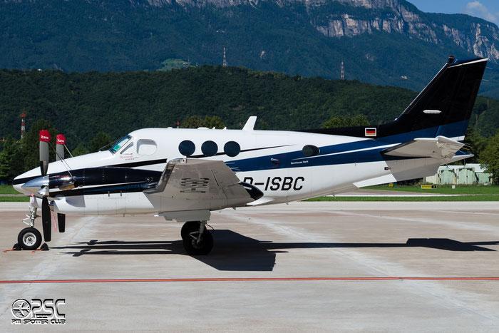 D-ISBC - Private - Beechcraft 90 King Air @ Aeroporto di Bolzano © Piti Spotter Club Verona