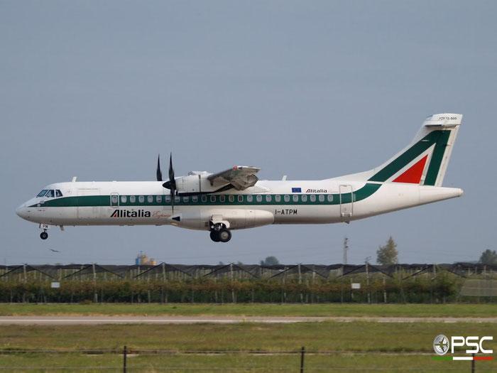 I-ATPM ATR72-212A 705 Alitalia Express @ Aeroporto di Verona 18.10.2008  © Piti Spotter Club Verona