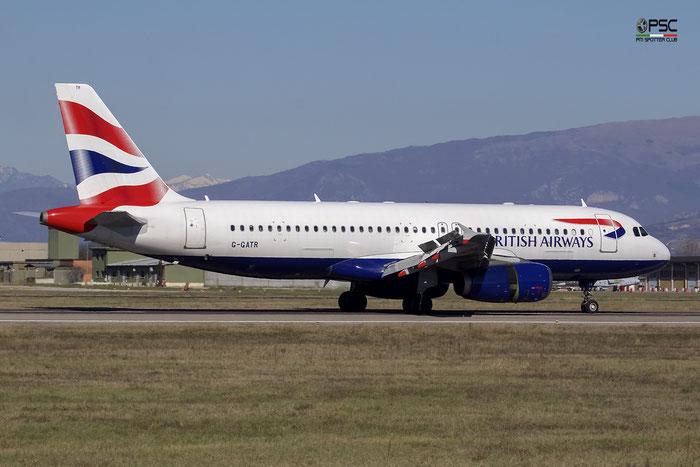 G-GATR A320-232 1771 British Airways @ Aeroporto di Verona 11.03.2017  © Piti Spotter Club Verona