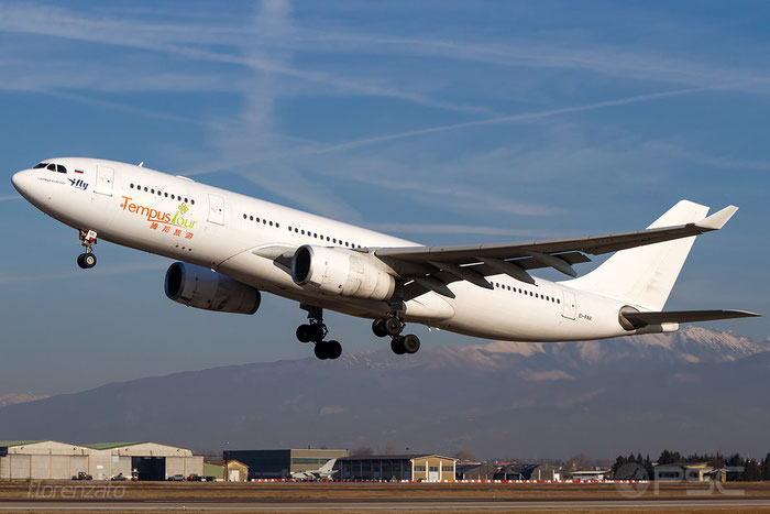 EI-FNX A330-243 283 I Fly @ Aeroporto di Verona 16.02.2019  © Piti Spotter Club Verona