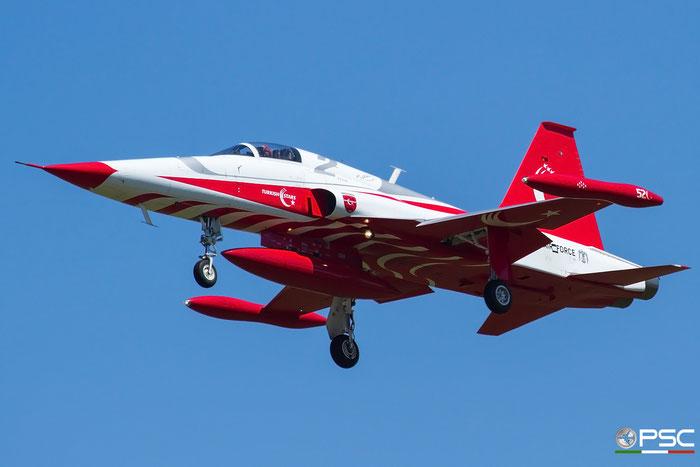 2 - Turkish Star - NF-5A Freedom Fighter © Piti Spotter Club Verona