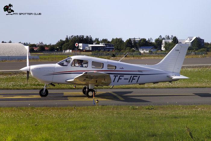 TF-IFI  Piper Archer DX @ Reykjavik Airport 08.2019 © Piti Spotter Club Verona