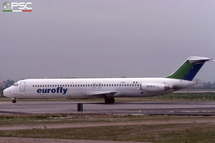 I-FLYY  DC-9-51  47754/856  Eurofly  @ Aeroporto di Verona © Piti Spotter Club Verona