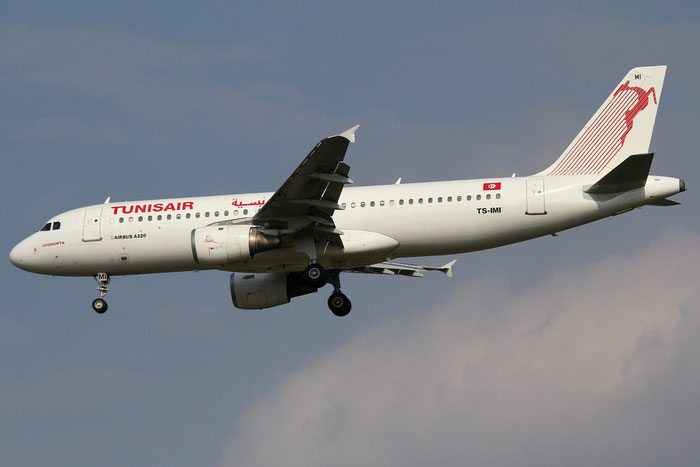 TS-IMI A320-211 511 Tunisair @ Milano Malpensa Airport 31.08.2014 © Piti Spotter Club Verona